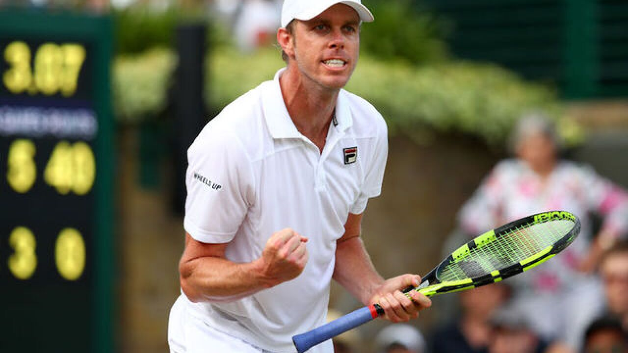 American pulls off huge upset at Wimbledon