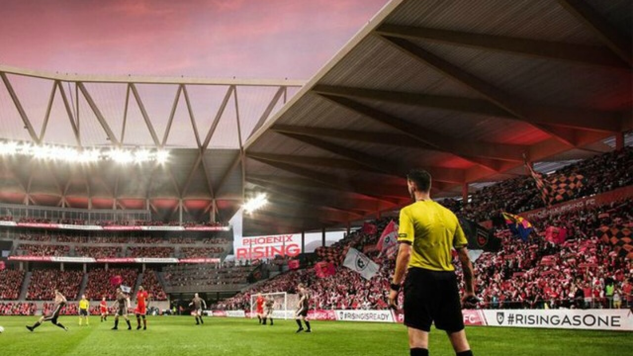Phoenix could be 1 of 3 finalists for 2 remaining MLS expansion teams
