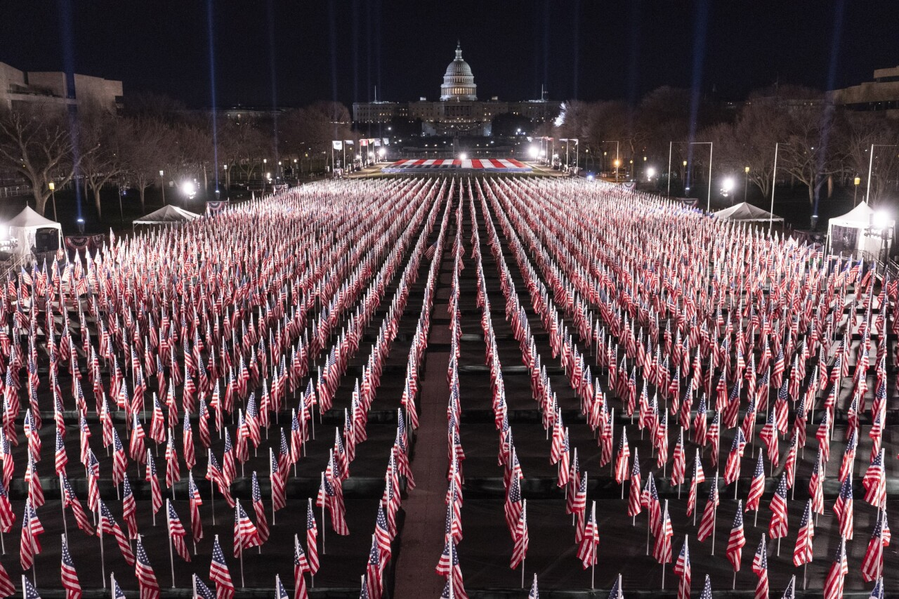 Field of Flags in D.C.