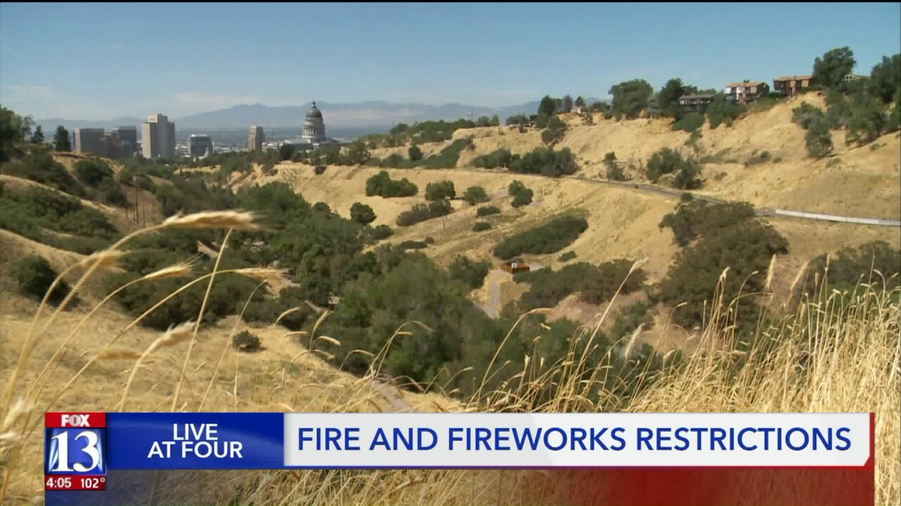 Campfires and fireworks banned in City Creek Canyon