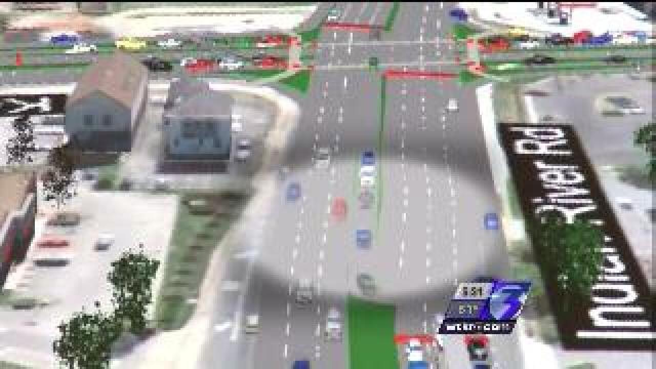 Beach engineers consider new way to make left turns at busy intersection