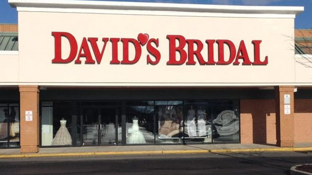 David's Bridal planning to file for bankruptcy
