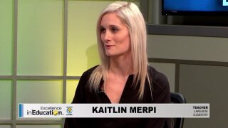 Excellence in Education – Kaitlin Merpi