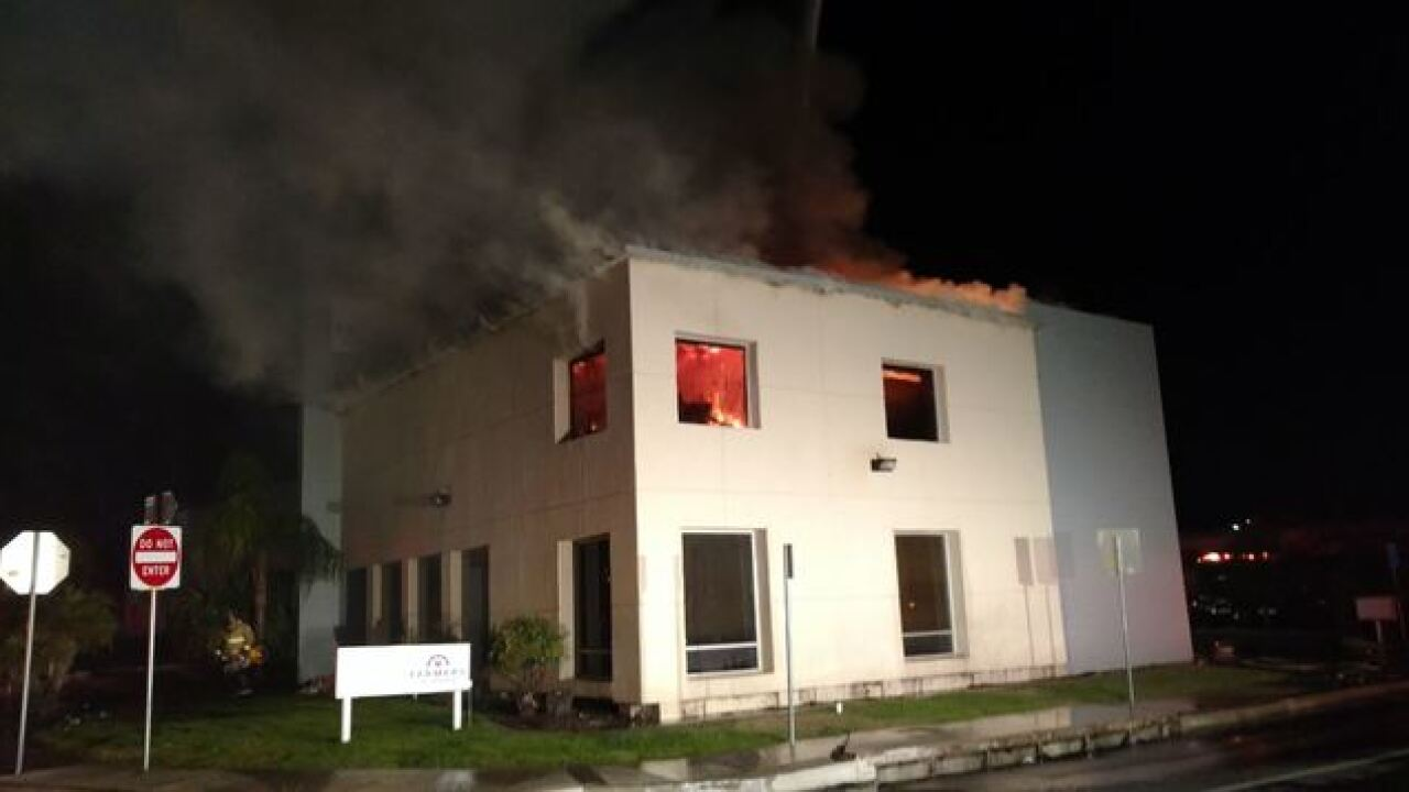 BFD, KCFD put out insurance building fire