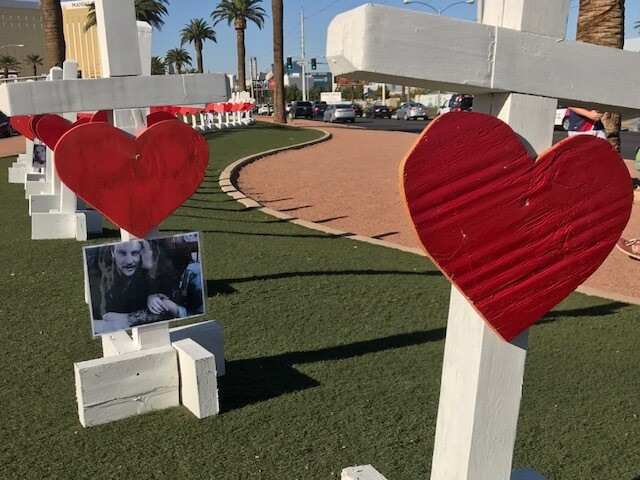 PHOTOS: After the mass shooting in Las Vegas
