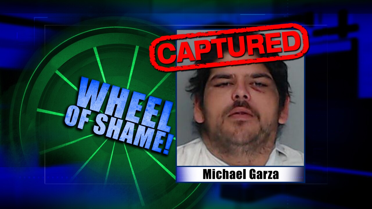 Wheel Of Shame Arrest:  Michael Garza