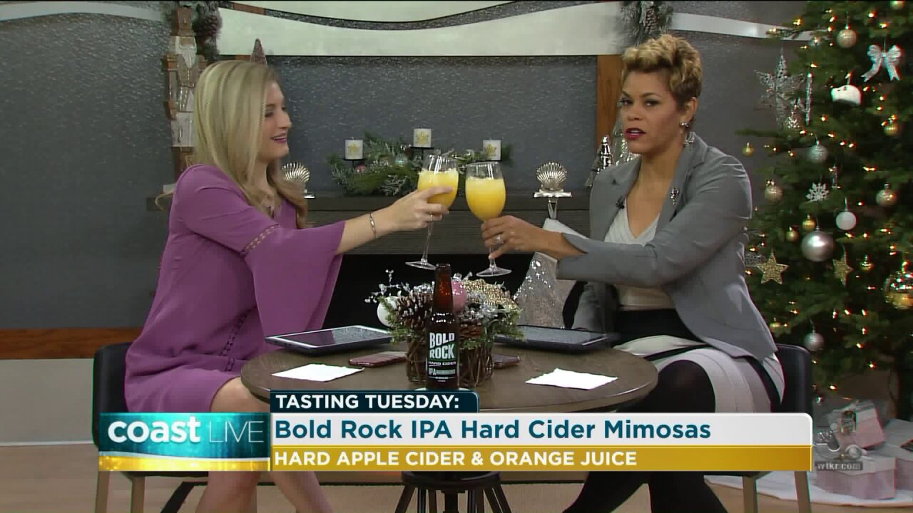Toasting Tuesday with Bold Rock IPA Hard Cider Mimosas on Coast Live