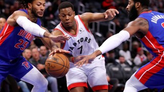 Kyle Lowry has triple-double in Raptors' victory over Pistons