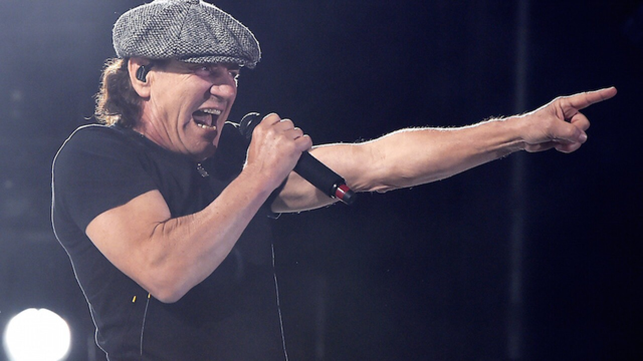 AC/DC's Brian Johnson says he's not retiring