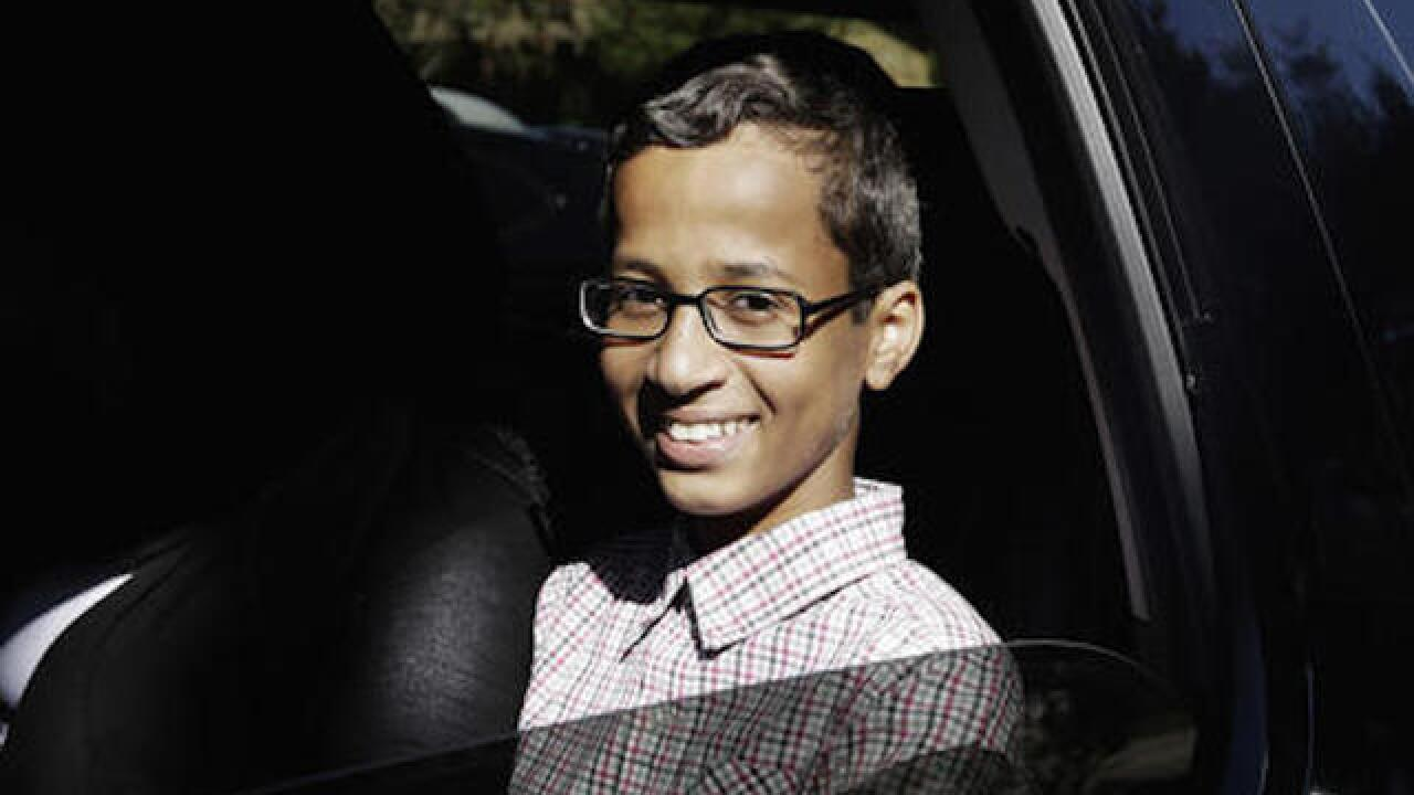 Ahmed Mohamed, the student arrested for building clock, is suing his former school