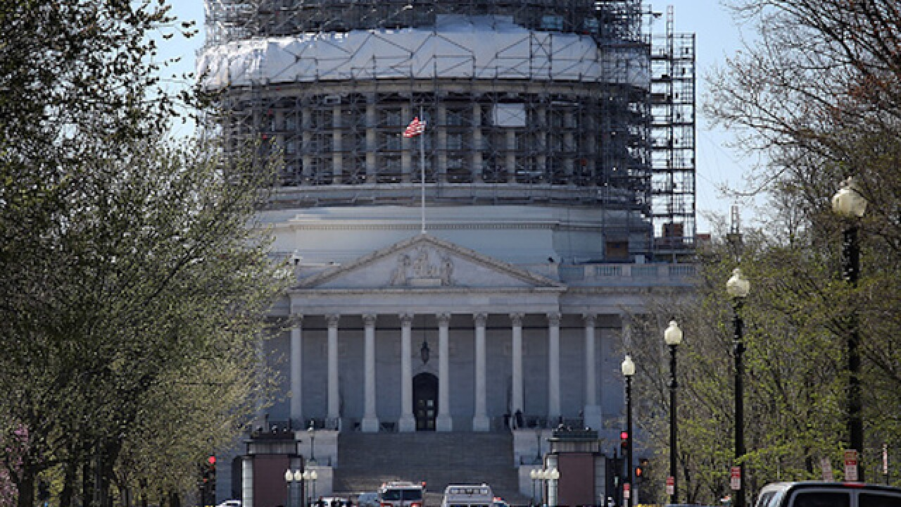 Suspicious packages found near Capitol cleared