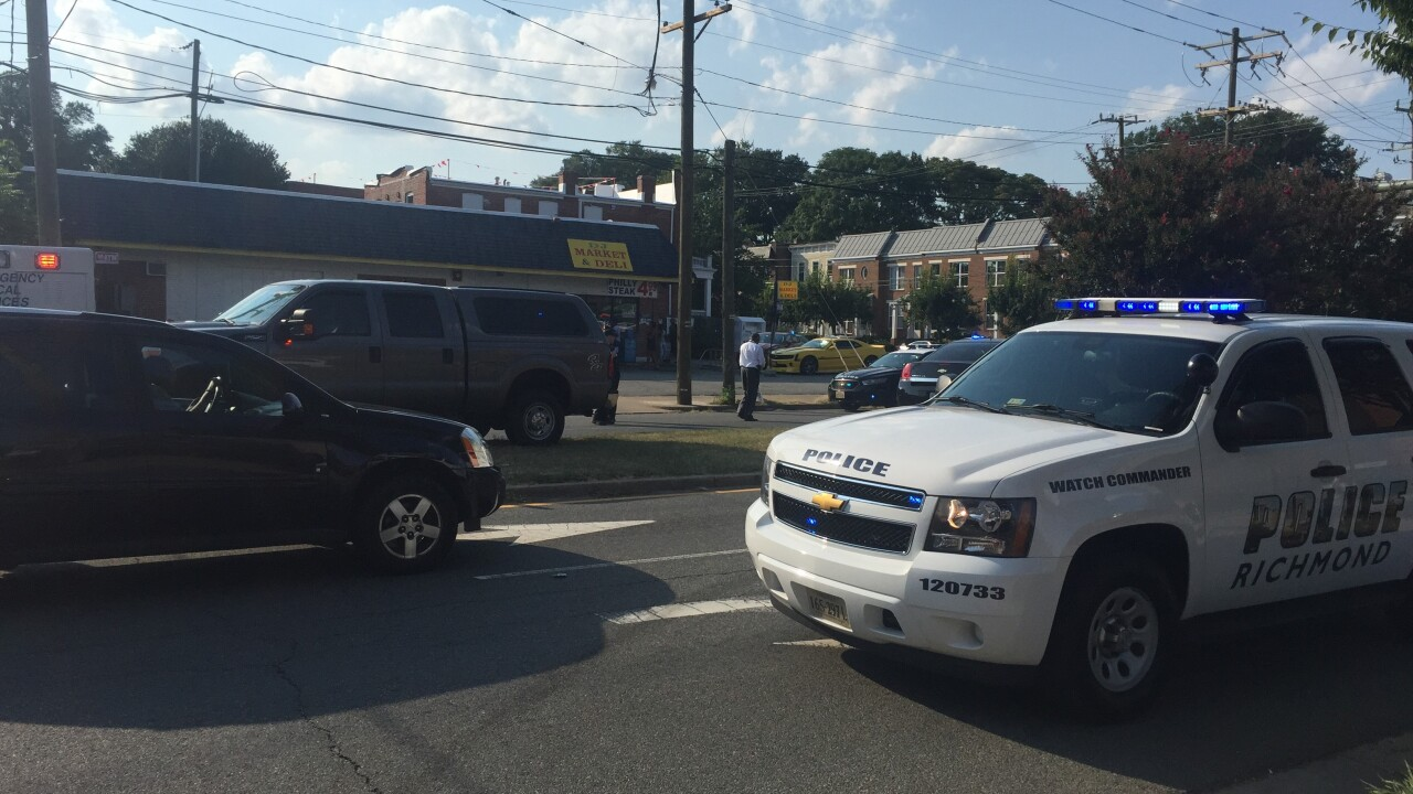 Richmond Police officer shot on Cary Street; suspect killed