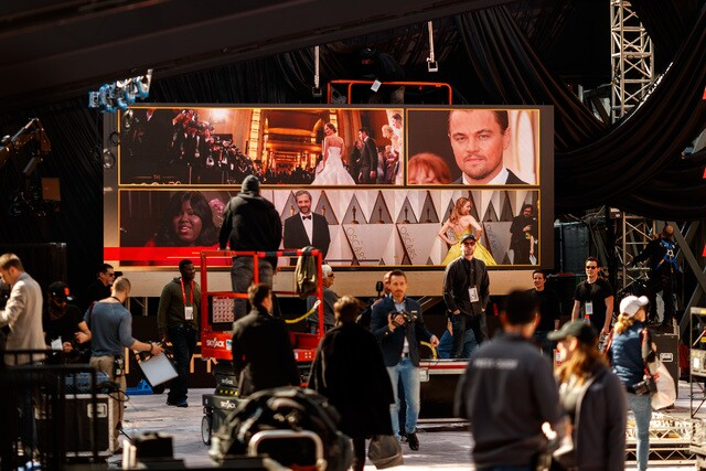 IMAGES: 90th Academy Awards show preparation