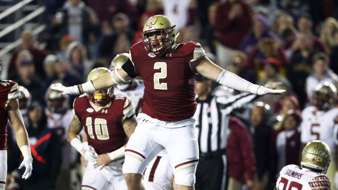 NFL DRAFT: Cardinals select Boston College defensive end