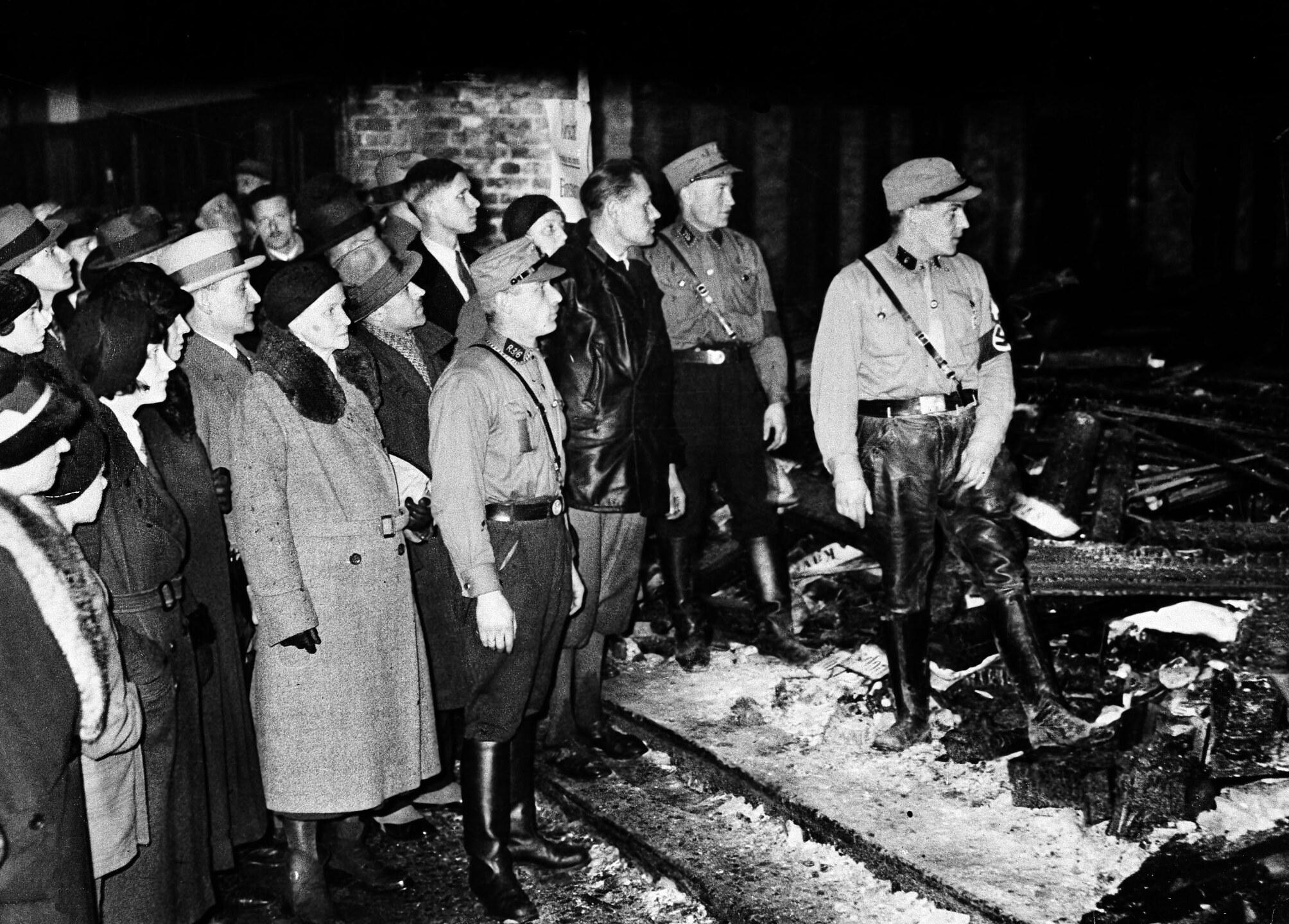 Reichstag Fire 1933