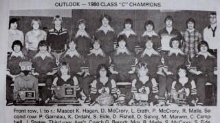 1980 Outlook Blue Jays boys basketball