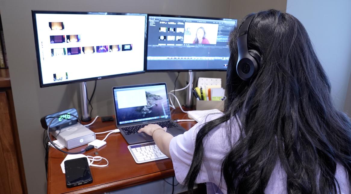 Ashley Garcia editing
