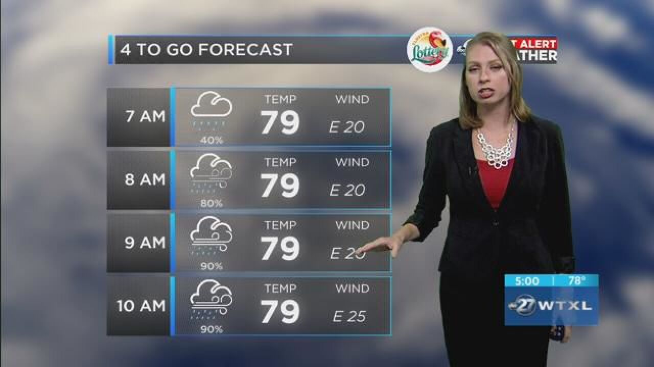 First Alert 4-to-Go Forecast: Oct. 10, 2018