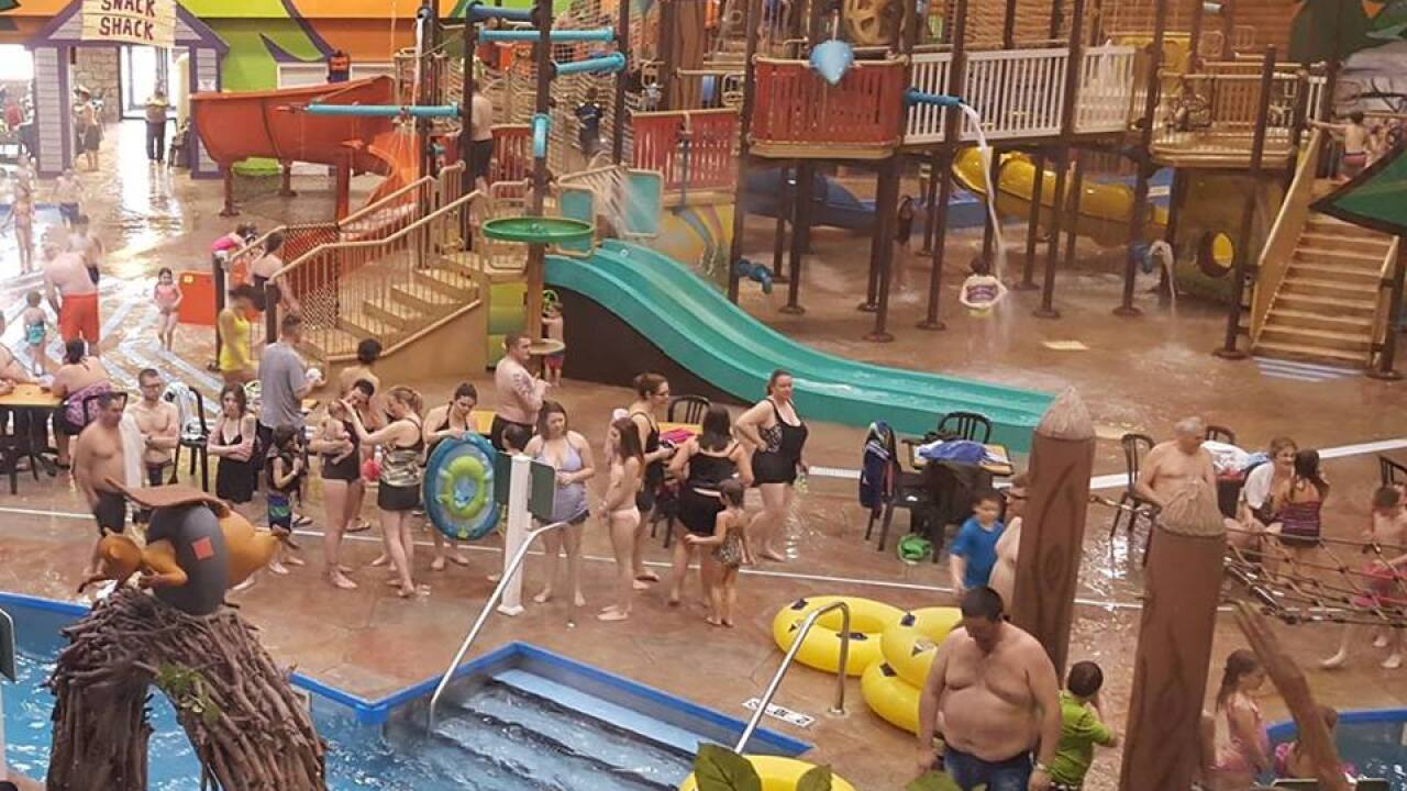 Splash Universe water park pool evacuated after guests complain of burns