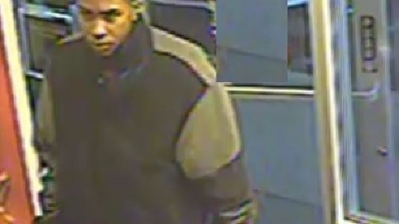 Nellis Boulevard armed robbery suspect sought