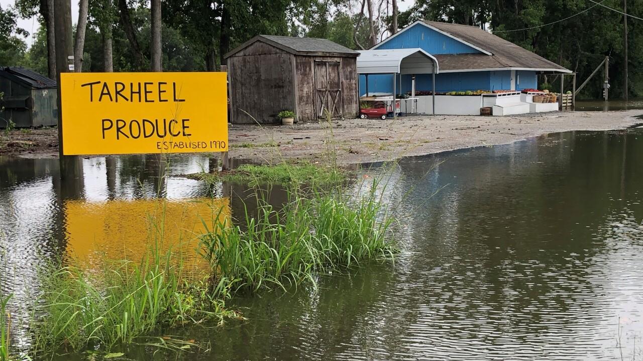 Tarheel Produce Currituck County flooding.jpg