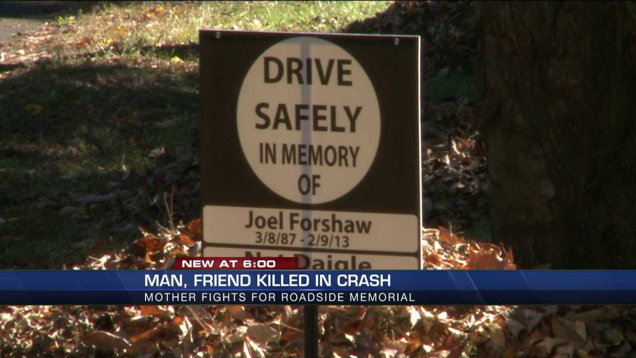 Mother petitions to have son's roadside memorial off Cary Street Road