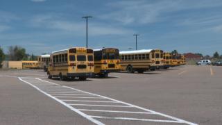 Lewis-Palmer District 38 buses