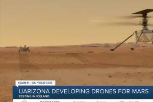 UArizona working to help drones explore Mars