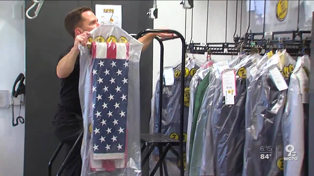 Flag Day dry cleaning Josh Pinkey Zips Dry Cleaning.jpg