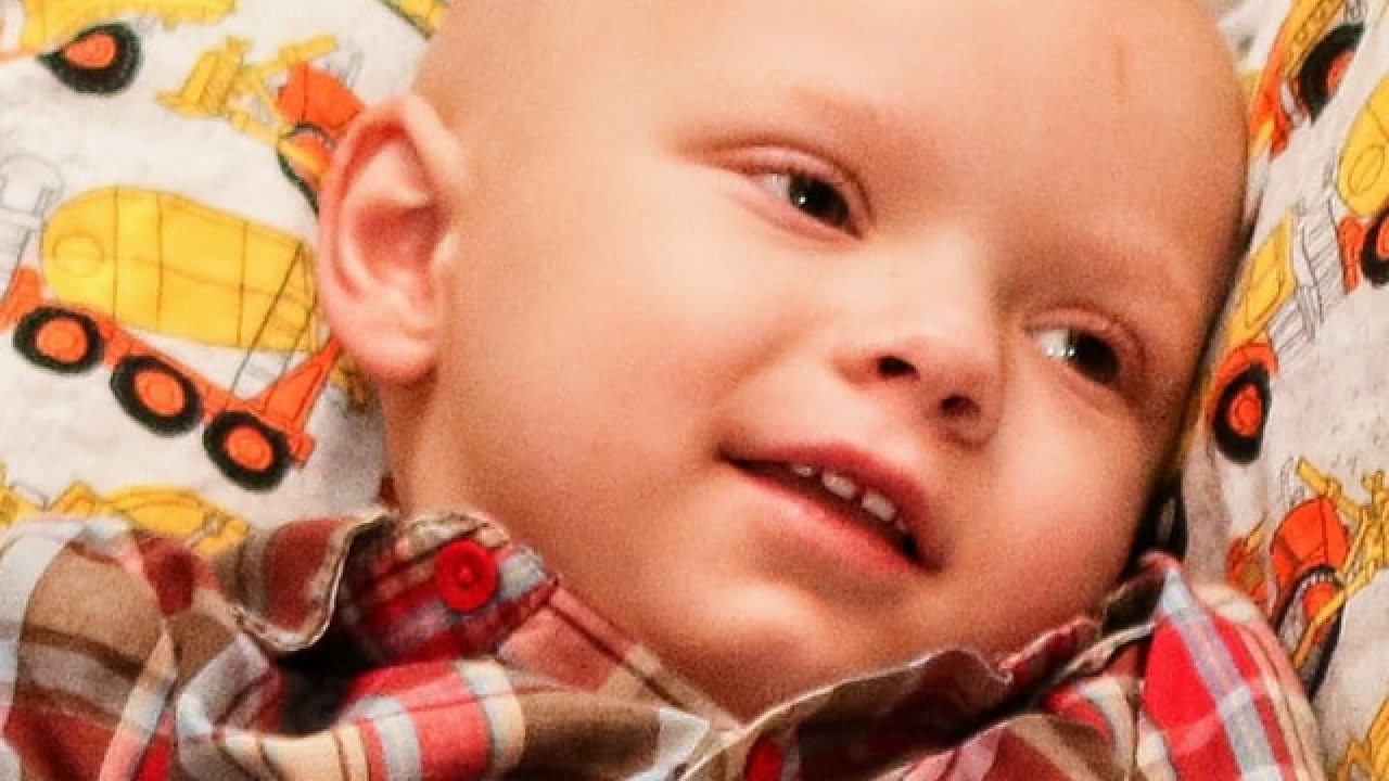 Father of 2-year-old boy with brain cancer says 'he's on God's time'
