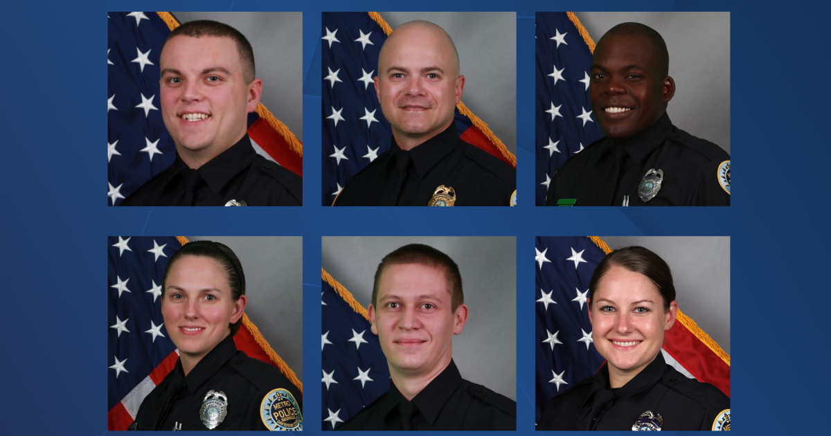 Officers commended for response to explosion in Nashville: 'They are heroes'