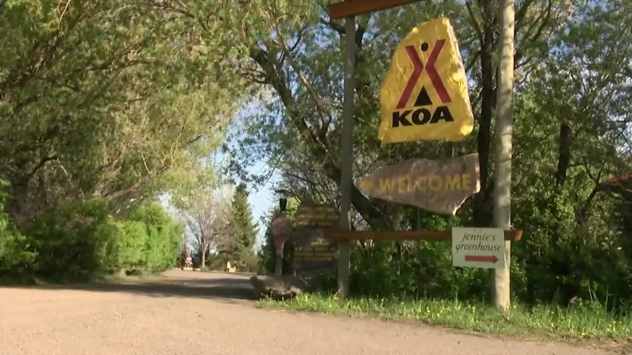 Some campgrounds are seeing a different mix of visitors than normal