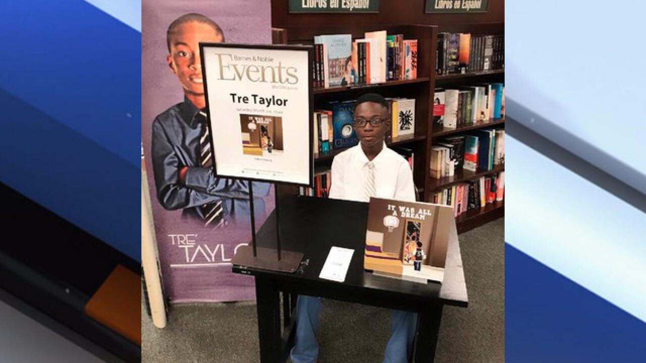 11YO Tampa student now published author