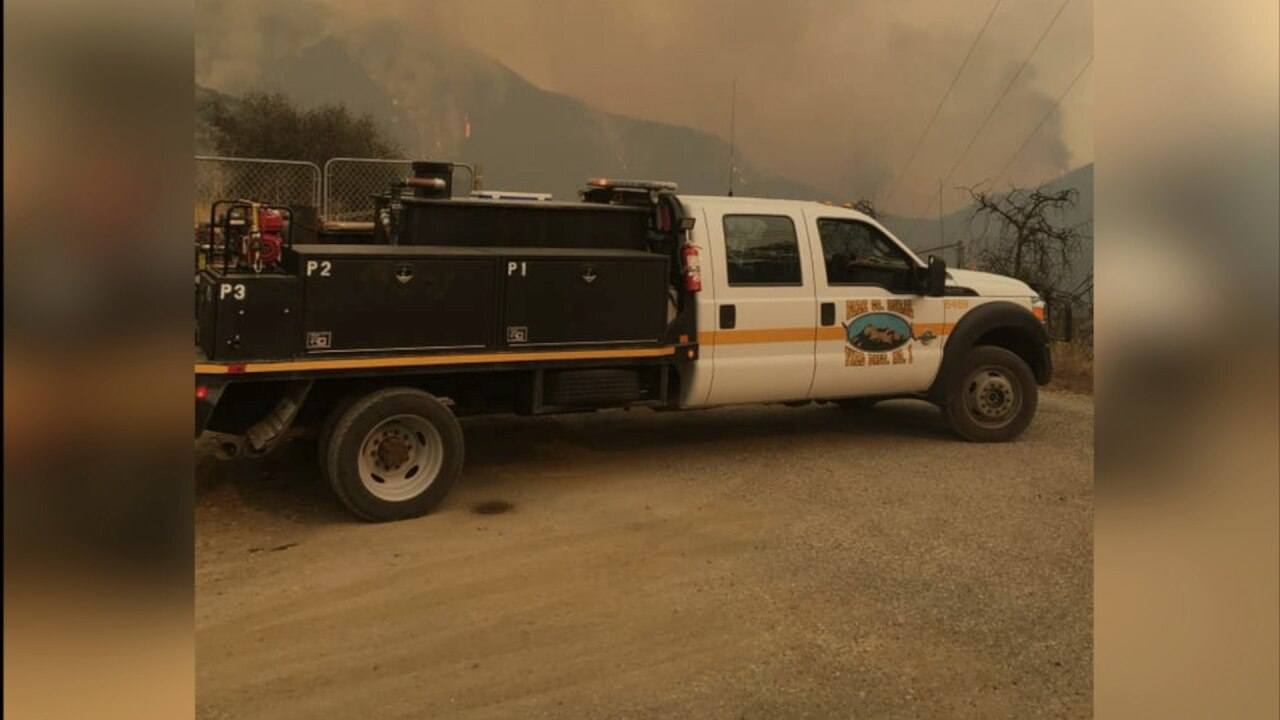 Park County firefighters fall victim to theft after battling California wildfire