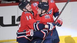 Jakub Vrana, Richard Panik Devils Capitals Hockey