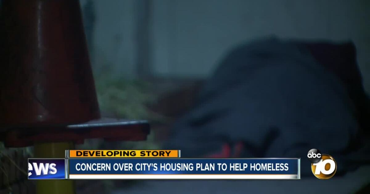 San Diego to turn city-owned properties into housing to help homeless