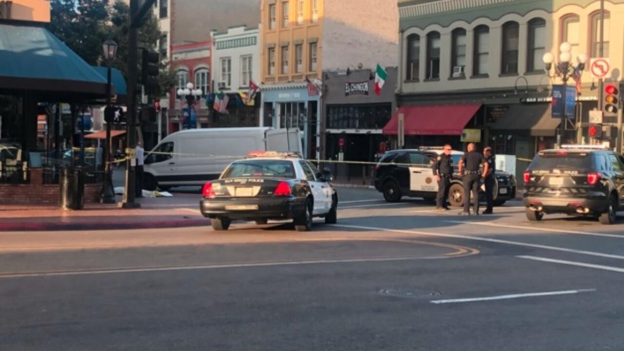 Man dies in Gaslamp Quarter shooting
