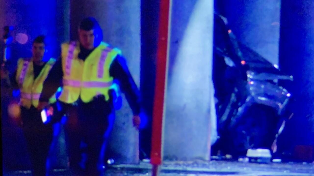 Police investigate crash on Dickerson Pike