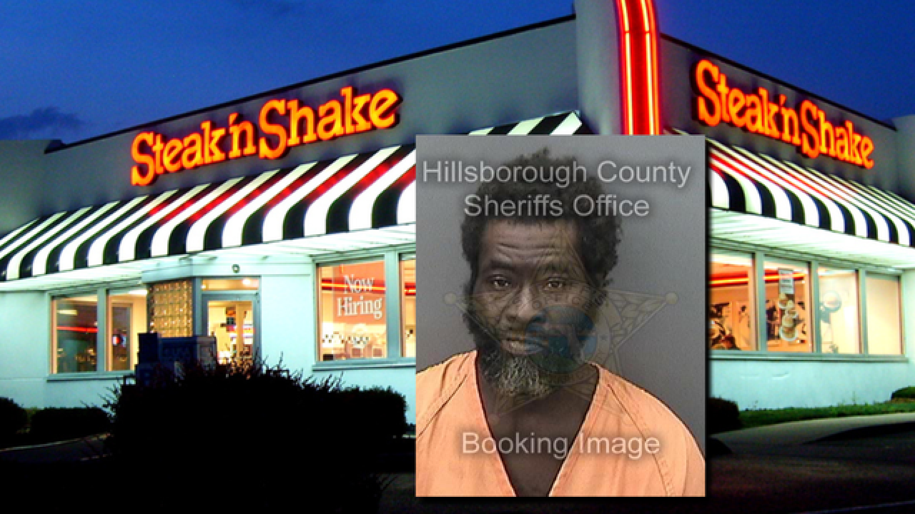 Florida man urinates in middle of Steak 'n Shake in front of dozens of customers