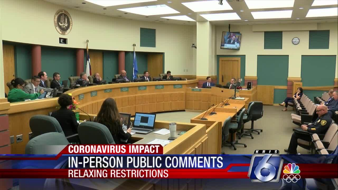 In-person comments return to City Council meetings