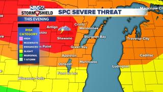 SPC Severe Weather Threat