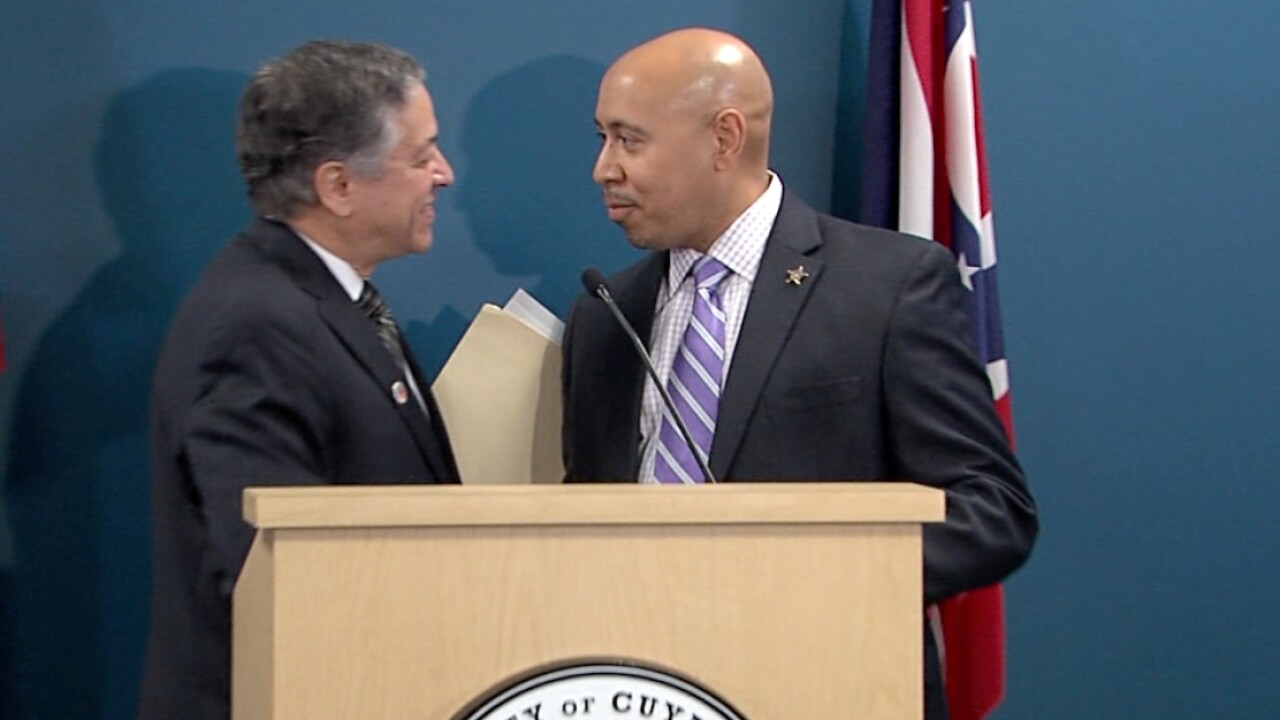 Cuyahoga County Sheriff Clifford Pinkney resigning