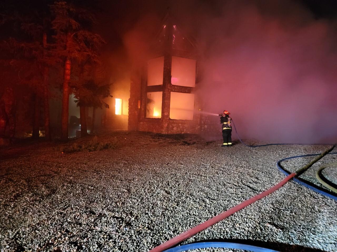 Duck Creek Village fire
