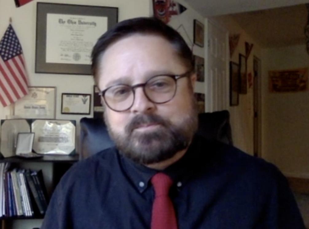 Jeffrey Blevins, chair of University of Cincinnati's Department of Journalism
