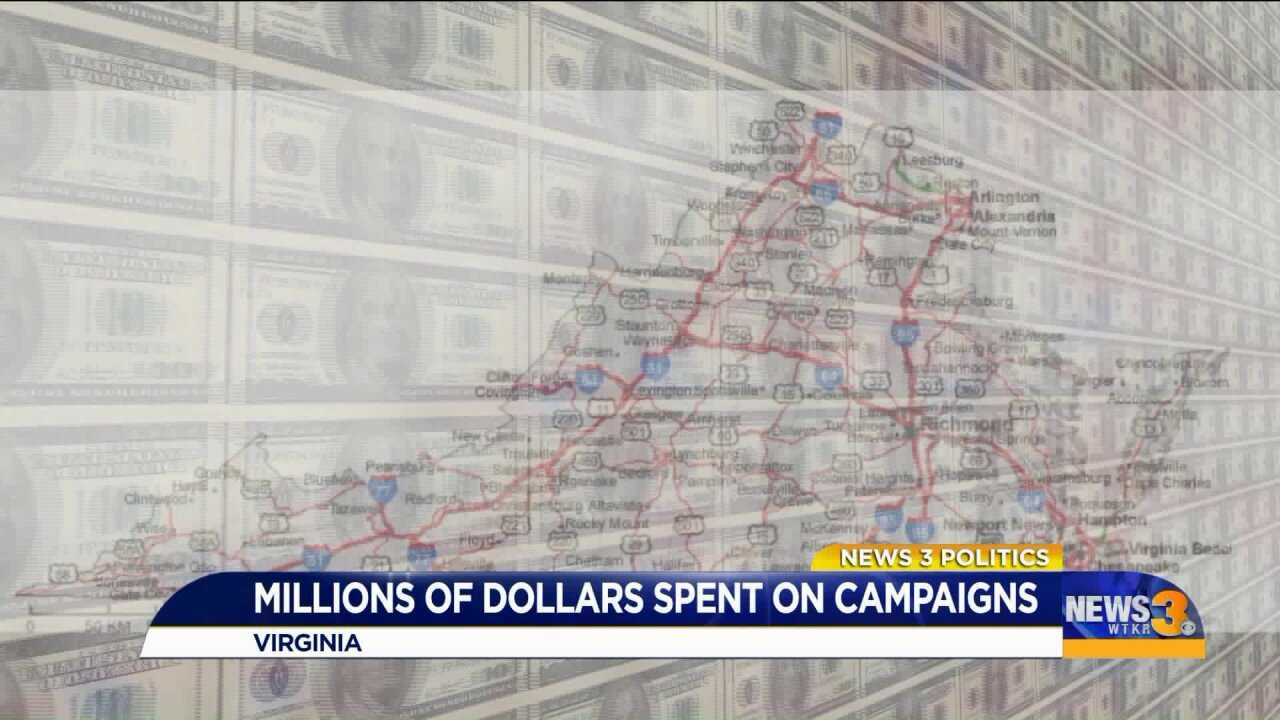 Huge money pours into General Assembly races in Hampton Roads days before ElectionDay