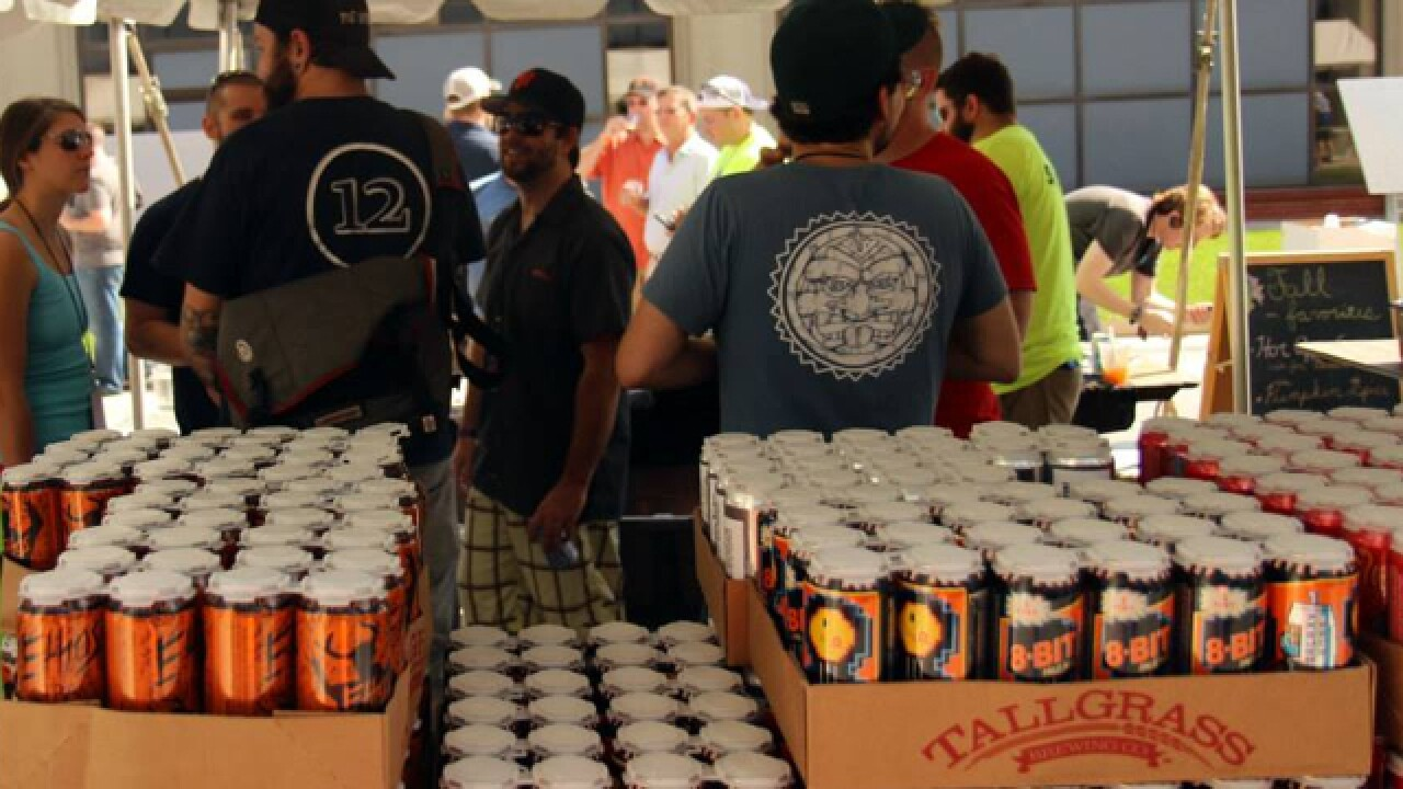 Love those cans! Brewery hosts can-only festival