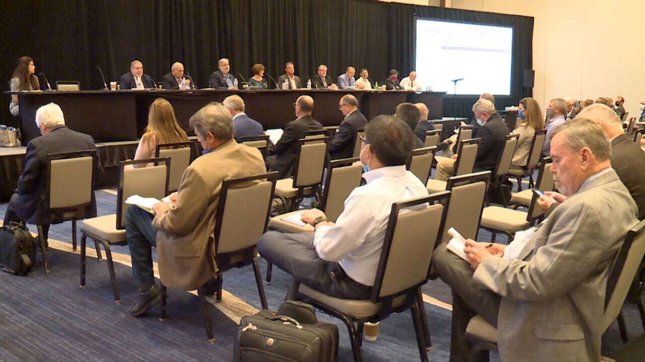 Building safety panel meeting held in West Palm Beach on Aug. 17, 2021