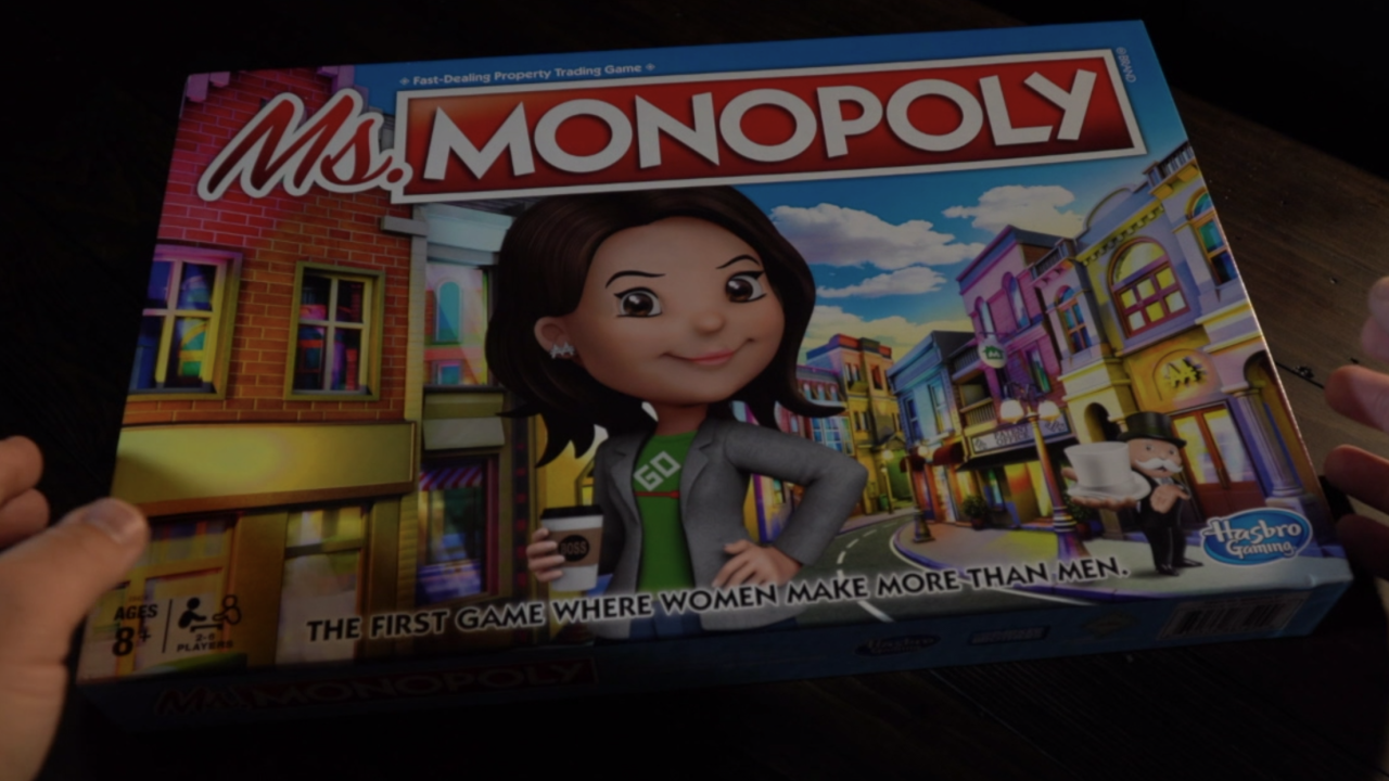 Ms. Monopoly teaching next generation about gender pay gap
