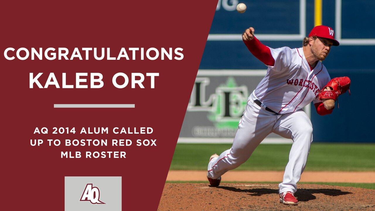 Kaleb Ort makes MLB Debut