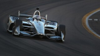 Heavy rain forces postponement of IndyCar race at Alabama